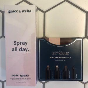 Other - Hydrating rose facial spray & mini eye essentials